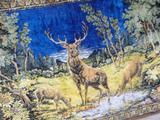 Продам ковер раритетный из плюша с тремя оленями